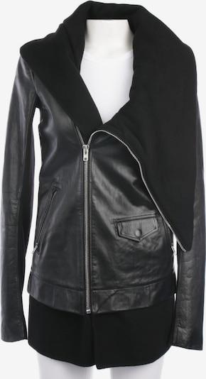 Rick Owens Lederjacke / Ledermantel in S in schwarz, Produktansicht