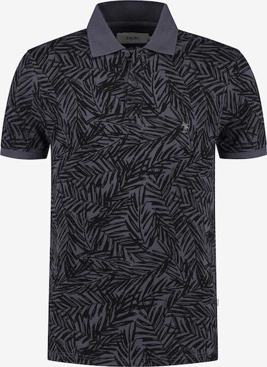 Tricou 'Mangrove' Shiwi pe albastru porumbel / negru, Vizualizare produs