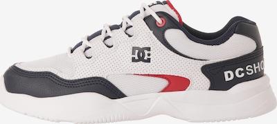 DC Shoes Sportschuh 'Decel' in navy / rot / weiß, Produktansicht