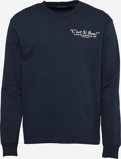 SCOTCH & SODA Shirt in nachtblau / weiß, Produktansicht