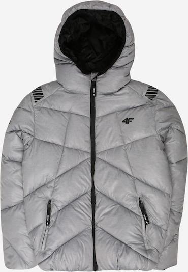 4F Sport-Jacke in grau, Produktansicht