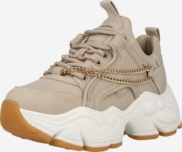 Sneaker low de la BUFFALO pe bej