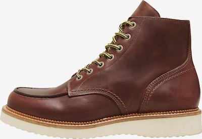 SELECTED HOMME Μπότες με κορδόνια 'Teo' σε καφέ, Άποψη προϊόντος