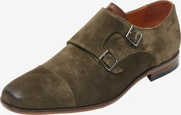 Chaussure à lacets ' Rodos ' Van Lier en vert