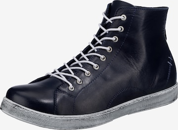 ANDREA CONTI High-Top Sneakers in Blue