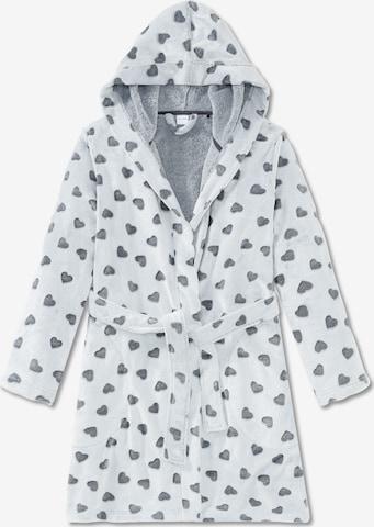 SCHIESSER Bathrobe in Grey