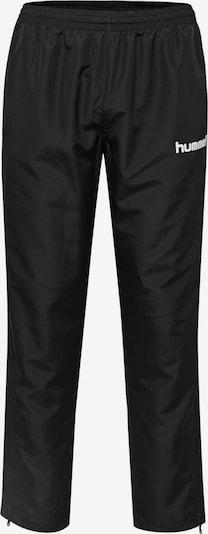 Hummel Micro Pants in schwarz / weiß, Produktansicht