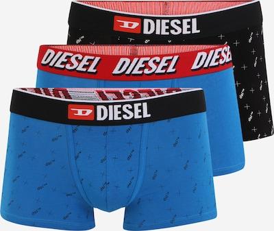 DIESEL Boxershorts 'UMBX-DAMIEN' in blau / rot / schwarz / weiß, Produktansicht