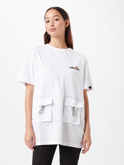 ELLESSE T-shirt 'Ardrea' en orange / noir / blanc: Vue de face
