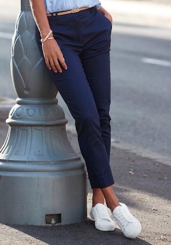 Pantaloni chino di VIVANCE in blu