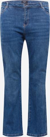 Vero Moda Curve Jeans 'SAGA' in Blau
