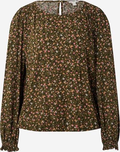EDC BY ESPRIT Bluse in khaki / mischfarben, Produktansicht