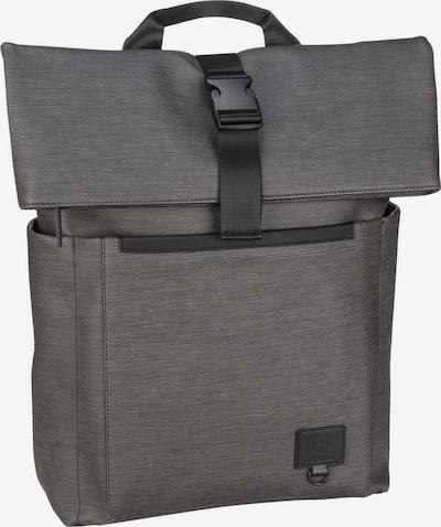 STRELLSON Rugzak ' Blackhorse ' in de kleur Grijs / Zwart, Productweergave