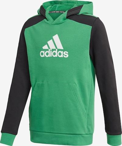 ADIDAS PERFORMANCE Sportsweatshirt in hellgrün / schwarz / weiß, Produktansicht