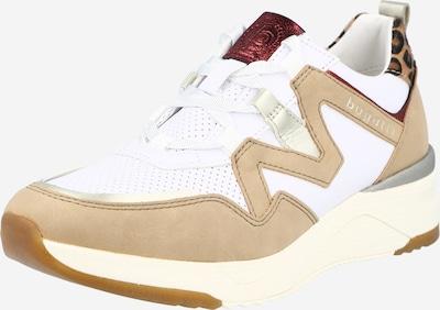 bugatti Sneaker in sand / schwarz / silber / weiß, Produktansicht