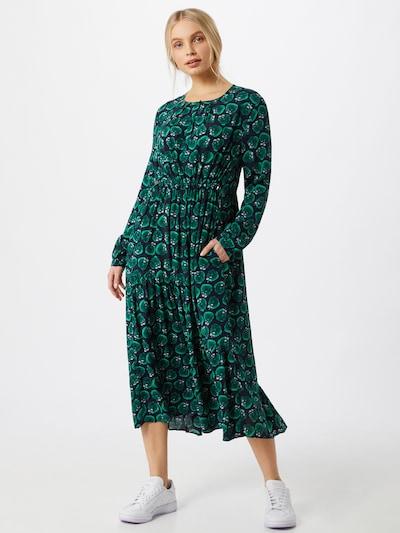 Suknelė 'Rani' iš LIEBLINGSSTÜCK , spalva - tamsiai mėlyna / žolės žalia / pastelinė rožinė: Vaizdas iš priekio