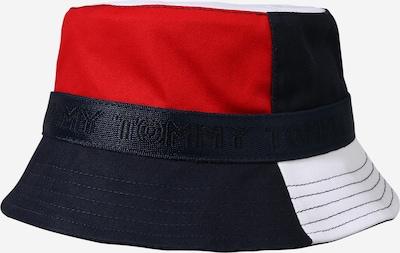 TOMMY HILFIGER Chapeau en bleu foncé / rouge / blanc cassé, Vue avec produit
