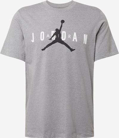 Tricou funcțional 'Jordan Air Wordmark' Jordan pe gri amestecat / negru / alb, Vizualizare produs