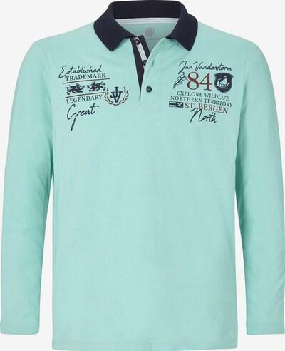 Jan Vanderstorm Shirt in de kleur Lichtblauw / Donkerblauw / Rood, Productweergave