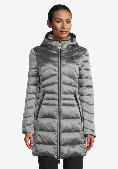 GIL BRET Wintermantel in grau / schwarz, Modelansicht