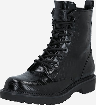 GUESS Lace-Up Ankle Boots in Black, Item view
