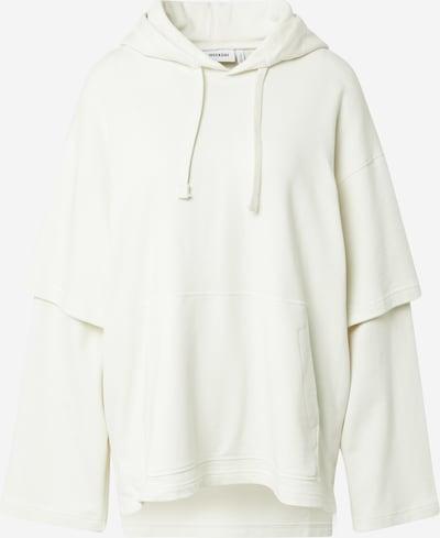 WEEKDAY Sweat-shirt en blanc, Vue avec produit