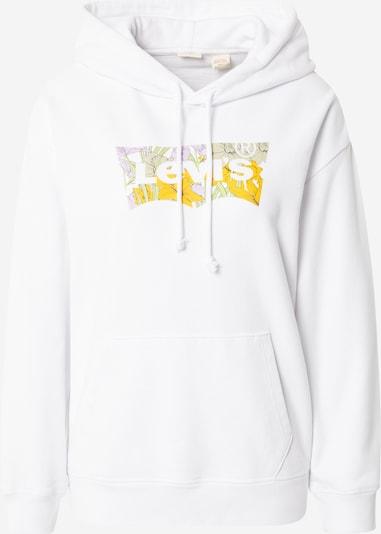 LEVI'S Sudadera en amarillo / blanco, Vista del producto