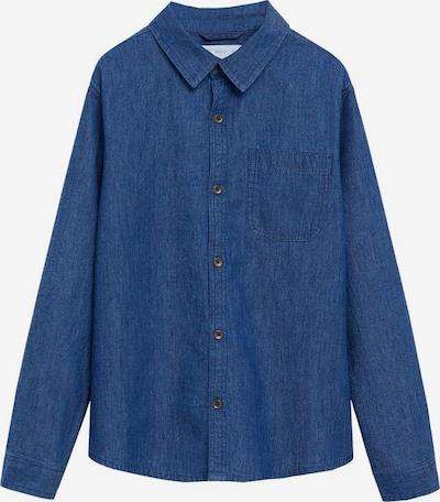 MANGO KIDS Hemd 'Daniel' in blue denim, Produktansicht