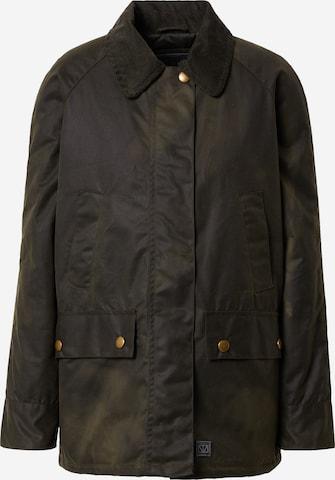 Brixtol Textiles Between-Season Jacket 'Bea' in Green
