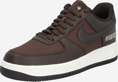 Nike Sportswear Zapatillas deportivas bajas 'Air Force 1' en chocolate / marrón oscuro: Vista frontal