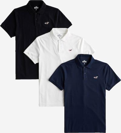 HOLLISTER Tričko - námořnická modř / černá / bílá, Produkt