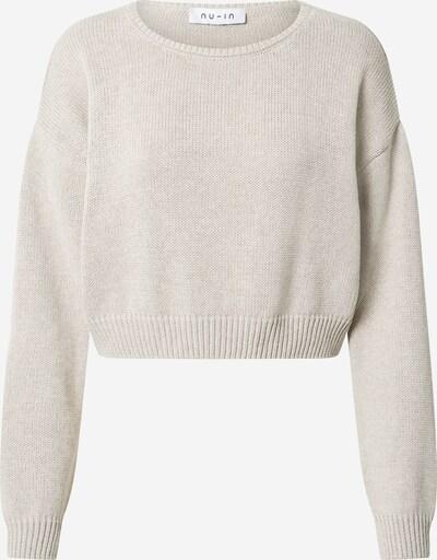 NU-IN Sweter w kolorze szarym: Widok z przodu