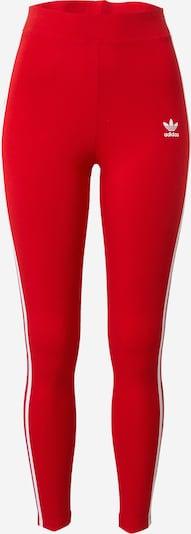 ADIDAS ORIGINALS Leggings i rød / hvid, Produktvisning