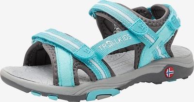 TROLLKIDS Sandals 'Preikestolen' in Turquoise / Grey, Item view
