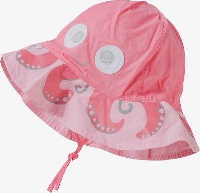 MAXIMO Hut in hellgrau / pink / hellpink / weiß, Produktansicht