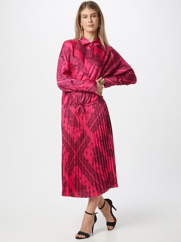 Gina Tricot Shirt Dress 'Lola' in Pink