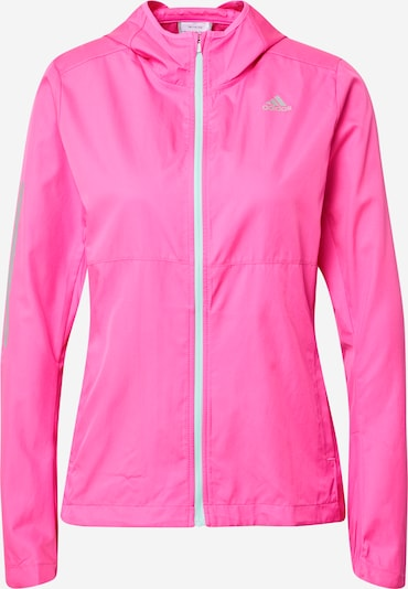 ADIDAS PERFORMANCE Sports jacket 'Own the Run' in Grey / Light pink, Item view