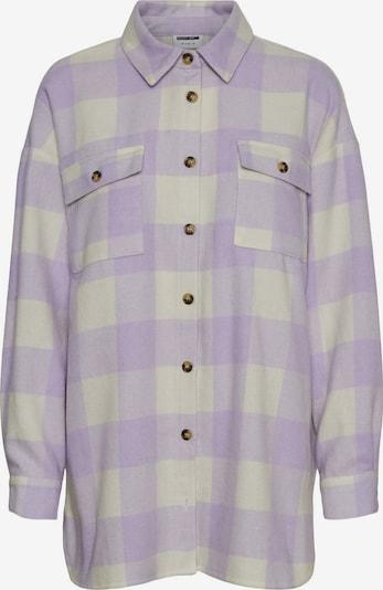 Noisy may Veste mi-saison 'Frannie' en violet pastel / blanc, Vue avec produit