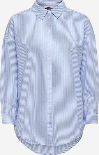 ONLY Bluse in blau / weiß, Produktansicht