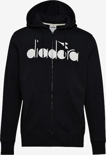 Diadora Sweatjacke in schwarz, Produktansicht