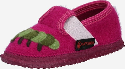 Naminės šlepetės 'Treffelstein ' iš GIESSWEIN , spalva - žalia / rožinė, Prekių apžvalga