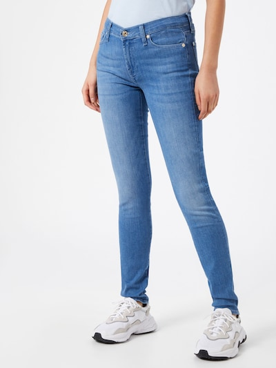 7 for all mankind Jeans 'The Skinny Bair Bluebay' in blau, Modelansicht