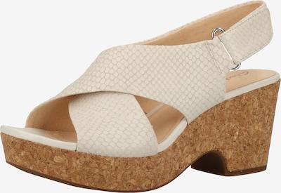 CLARKS Sandaal in de kleur Wit, Productweergave