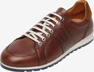 Van Lier Chaussure de sport à lacets 'Anzano' en marron, Vue avec produit