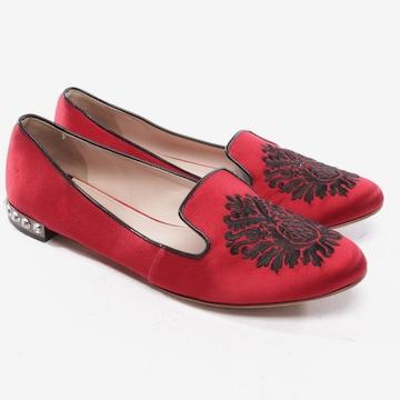 Miu Miu Flats & Loafers in 39 in Red