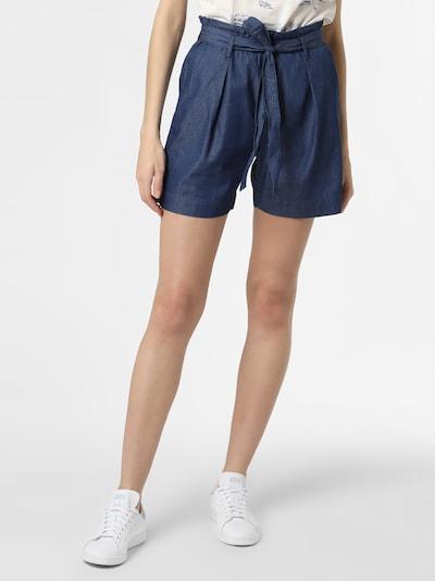 Marie Lund Shorts ' ' in dunkelblau, Modelansicht
