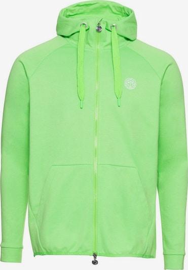 BIDI BADU Sweatjacke mit Raglan-Ärmeln in grün, Produktansicht