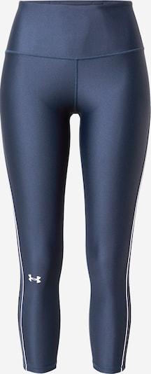 UNDER ARMOUR Pantalon de sport en bleu foncé / blanc, Vue avec produit