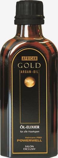 African Gold Öl-Elixier 'Powerwell' in transparent, Produktansicht