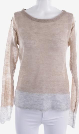 BLOOM Pullover  in S in dunkelbraun / grau, Produktansicht